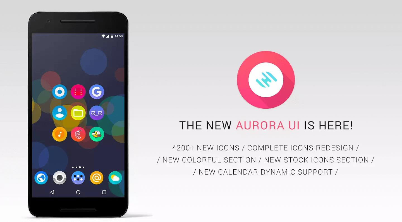 Aurora UI - Icon Pack v6.9